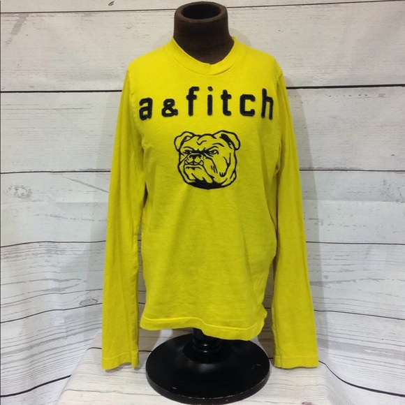 a547a45c abercrombie kids Shirts & Tops | Boys Long Sleeve Muscle Tee Med ...